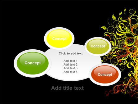 Fairy Tree PowerPoint Template Slide 16