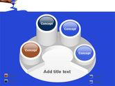 Blue Marker PowerPoint Template#12