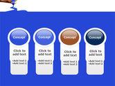 Blue Marker PowerPoint Template#5