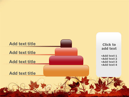 Vine Leaves Frame PowerPoint Template Slide 8