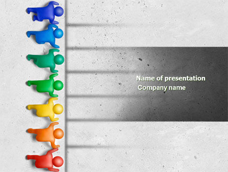 Business Concepts: Start Up PowerPoint Template #04688