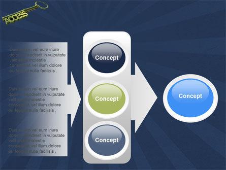 Access Key PowerPoint Template Slide 11