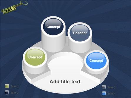 Access Key PowerPoint Template Slide 12