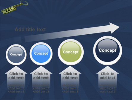 Access Key PowerPoint Template Slide 13