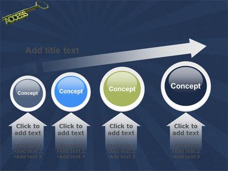Access Key PowerPoint Template Slide 13