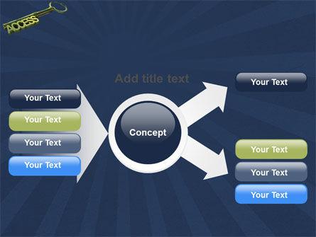 Access Key PowerPoint Template Slide 14