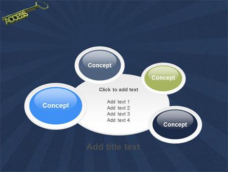 Access Key PowerPoint Template Slide 16