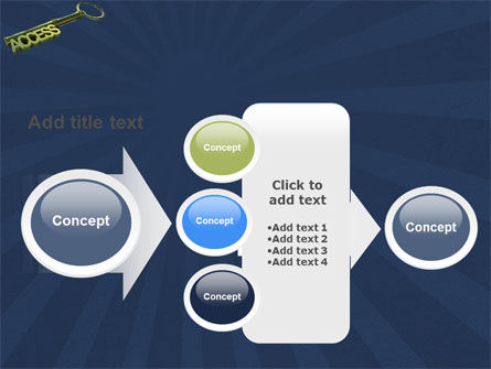Access Key PowerPoint Template Slide 17