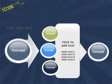 Access Key PowerPoint Template Slide 17