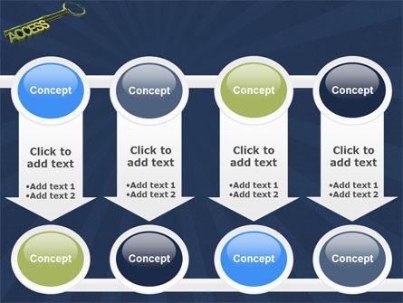 Access Key PowerPoint Template Slide 18