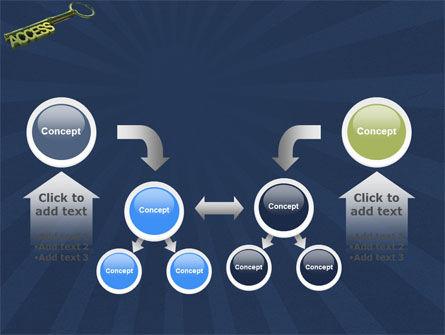 Access Key PowerPoint Template Slide 19