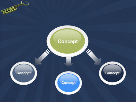 Access Key PowerPoint Template, Slide 4, 04689, Business Concepts — PoweredTemplate.com