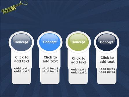 Access Key PowerPoint Template Slide 5