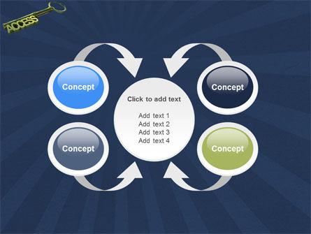 Access Key PowerPoint Template Slide 6