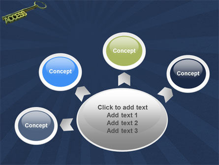 Access Key PowerPoint Template Slide 7