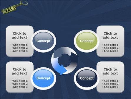 Access Key PowerPoint Template Slide 9