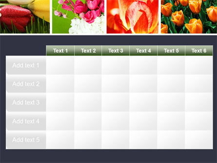 Tulips PowerPoint Template Slide 15
