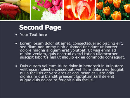 Tulips PowerPoint Template Slide 2