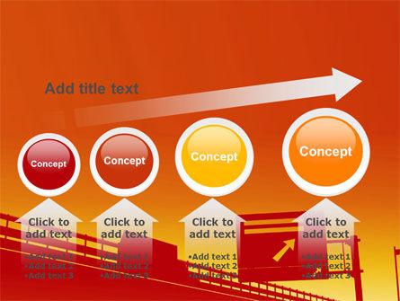 Road Way PowerPoint Template Slide 13
