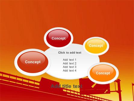 Road Way PowerPoint Template Slide 16