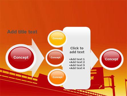 Road Way PowerPoint Template Slide 17