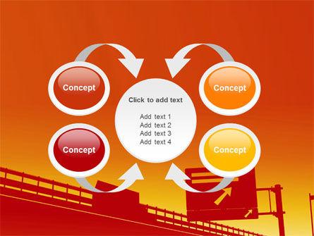 Road Way PowerPoint Template Slide 6
