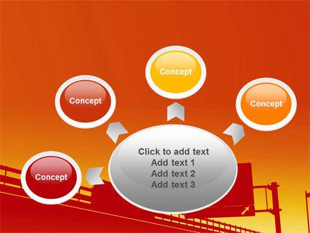 Road Way PowerPoint Template Slide 7