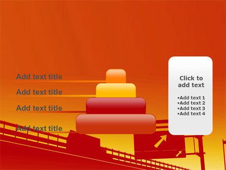 Road Way PowerPoint Template Slide 8
