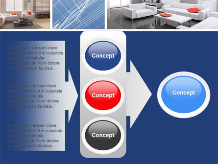 Interior Design In 3D Modeling PowerPoint Template Slide 11