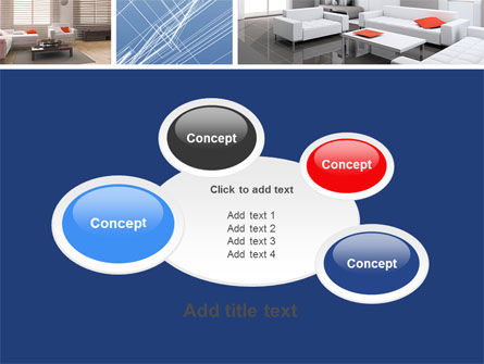 Interior Design In 3D Modeling PowerPoint Template Slide 16