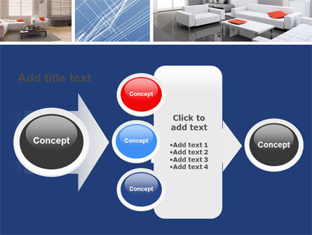 Interior Design In 3D Modeling PowerPoint Template Slide 17