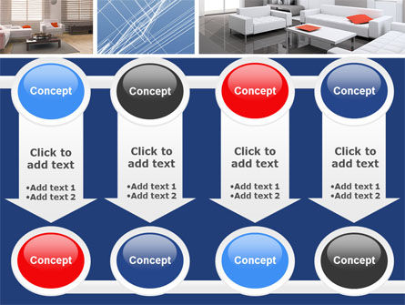 Interior Design In 3D Modeling PowerPoint Template Slide 18