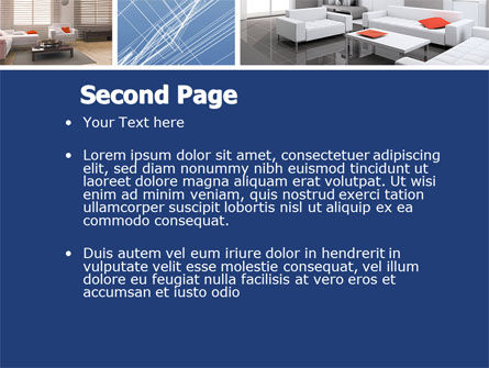 Interior Design In 3D Modeling PowerPoint Template Slide 2
