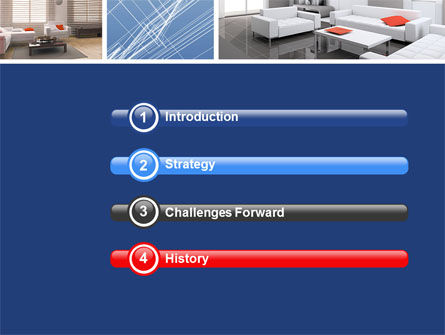 Interior Design In 3D Modeling PowerPoint Template Slide 3