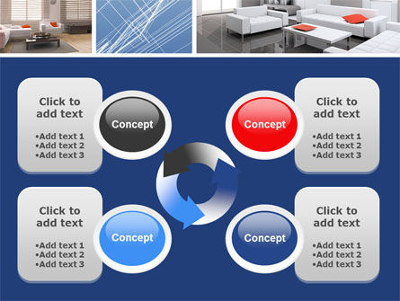 Interior Design In 3D Modeling PowerPoint Template Slide 9