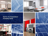 Interior Design In 3D Modeling PowerPoint Template#1