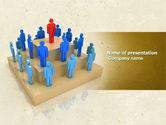 Careers/Industry: Absolute Monarchie PowerPoint Template #04700