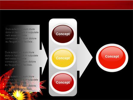 Festival of Lights PowerPoint Template Slide 11