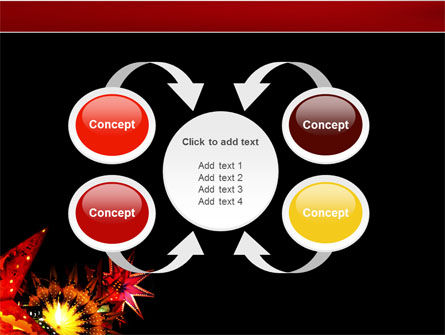 Festival of Lights PowerPoint Template Slide 6