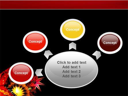 Festival of Lights PowerPoint Template Slide 7