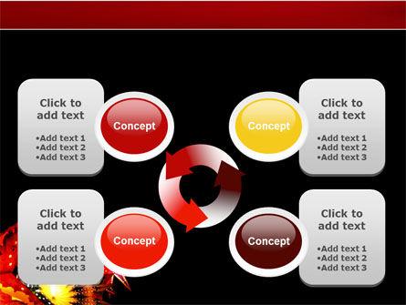 Festival of Lights PowerPoint Template Slide 9