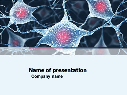 Medical: Neurons PowerPoint Template #04703