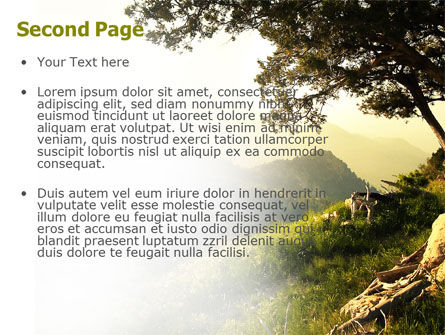 Upland PowerPoint Template, Slide 2, 04704, Nature & Environment — PoweredTemplate.com