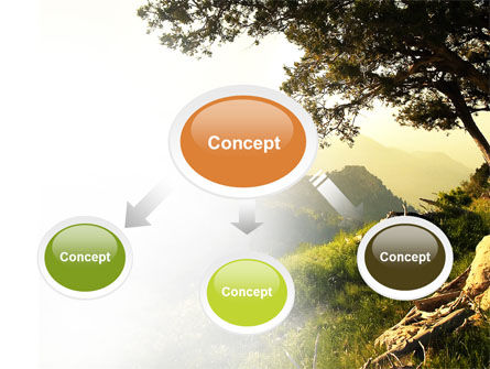 Upland PowerPoint Template, Slide 4, 04704, Nature & Environment — PoweredTemplate.com