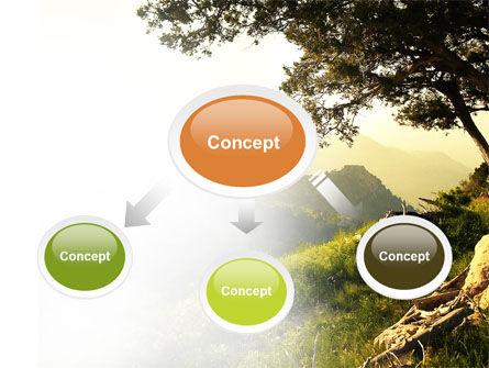 Upland PowerPoint Template, Slide 4, 04704, Nature & Environment — PoweredTemplate.com
