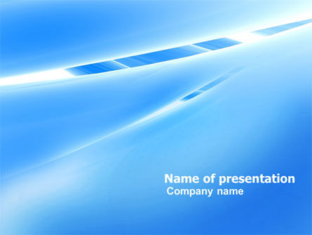 Abstract Notches Free PowerPoint Template