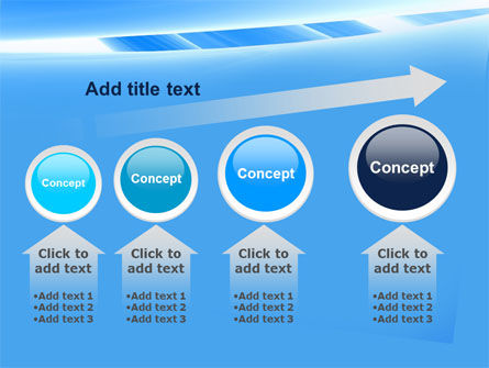 Abstract Notches Free PowerPoint Template Slide 13