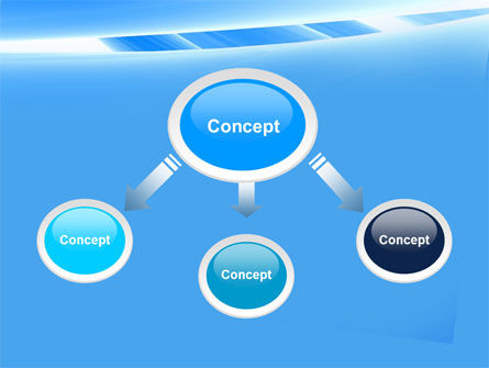 Abstract Notches Free PowerPoint Template Slide 4