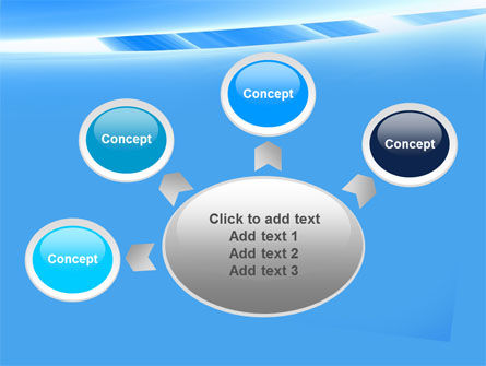 Abstract Notches Free PowerPoint Template Slide 7