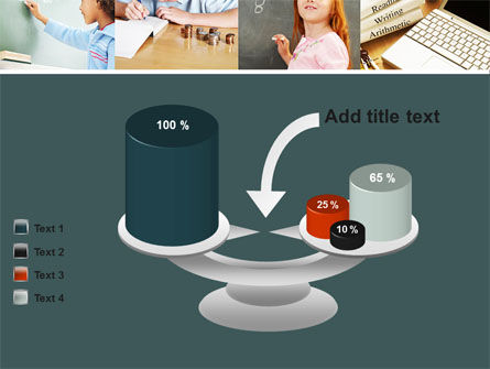 Lesson In Math PowerPoint Template Slide 10